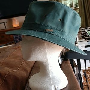 STETSON cloth bucket fedora hat NEW!